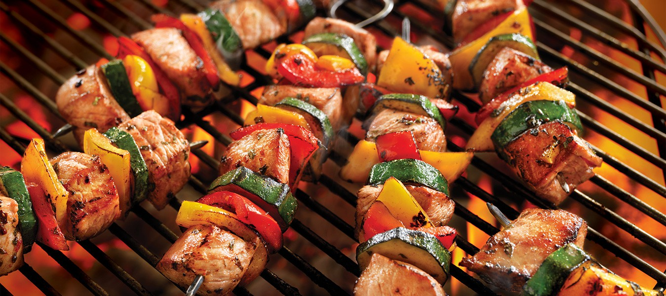 Grote zomer BBQ